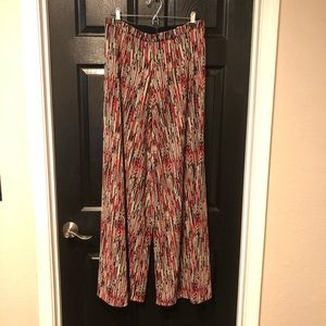 alice and olivia knit wide leg pants